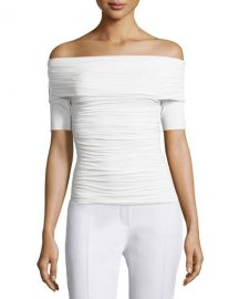 The Row Nanja Off-the-Shoulder Jersey Top at Neiman Marcus
