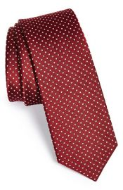 The Tie Bar Silk Pin Dot Tie at Nordstrom