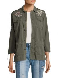 The Top Brass Fray Zip Jacket by MOTHER at Gilt at Gilt