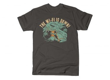 The Wi-Fi is Down tee at Snorg Tees