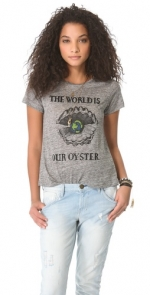 The World Is An Oyster tee by Patterson J Kincaid at Shopbop