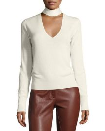 Theory Choker Sweater at Neiman Marcus