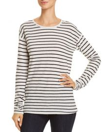 Theory Relaxed Stripe Top at Bloomingdales