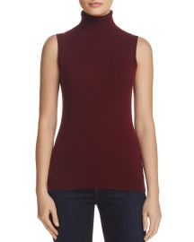 Theory Sleeveless Cashmere Turtleneck  at Bloomingdales