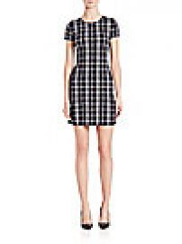 Theory - Branteen Plaid Shift Dress at Saks Fifth Avenue