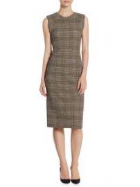 Theory - Power Midi Dress at Saks Fifth Avenue