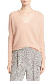 Theory  Adrianna  V-Neck Cashmere Pullover at Nordstrom