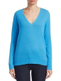 Theory Adrianna Sweater in Bermuda Blue at Saks Fifth Avenue