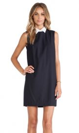 Theory Audrice Dress in Navy from Revolve com at Revolve