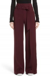 Theory Camogie High Waist Belted Pants at Nordstrom