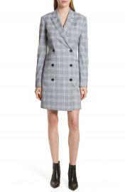 Theory Check Plaid Blazer Dress at Nordstrom