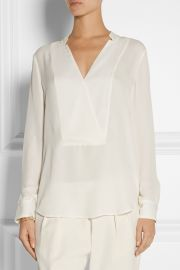 Theory Corbette Blouse at Net A Porter