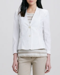 Theory Dalite Fitted Blazer at Neiman Marcus