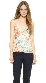 Theory Floral Print Vaneese Cami at Shopbop