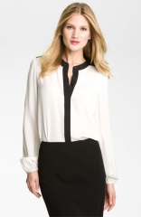 Theory Gerine - Cicero Silk Blouse at Nordstrom