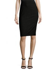Theory Hemdall B Continuous Pencil Skirt   Neiman Marcus at Neiman Marcus