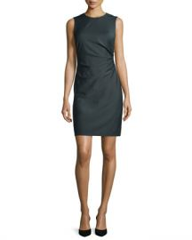 Theory Jorianna Continuous Stretch Sheath Dress at Neiman Marcus