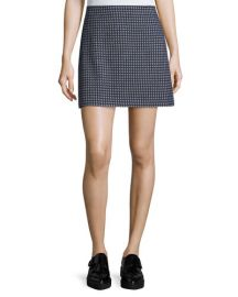 Theory Kerash Textured Knit Skirt at Neiman Marcus