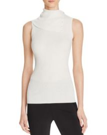 Theory Leendelle Merino Wool Top at Bloomingdales