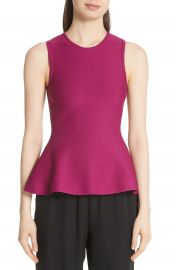 Theory Lustrate Classic Peplum Top at Nordstrom