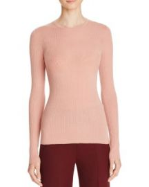 Theory Mirzi B Merino Wool Top in Pink at Bloomingdales