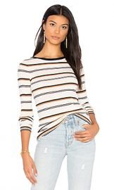 Theory Mirzi M Sweater in Ivory Stripe from Revolve com at Revolve