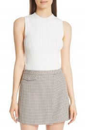 Theory Pointelle Knit Shell at Nordstrom