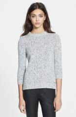 Theory Rainee M Cotton Blend Sweater at Nordstrom