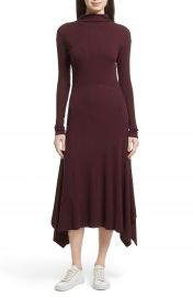Theory Ribbed Sweater Dress at Nordstrom