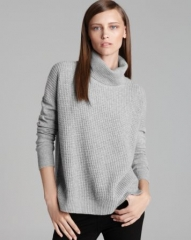 Theory Sweater - Aldanta Cashmere Turtleneck at Bloomingdales