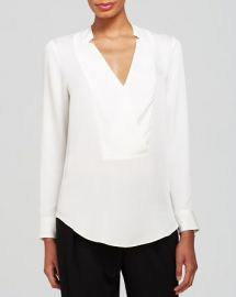 Theory Top - Corbette Double Georgette Silk at Bloomingdales
