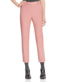 Theory Treeca 2 Crop Pants in Pink Willow at Bloomingdales
