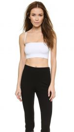Theory Tubular Bari Tube Top White at Shopbop