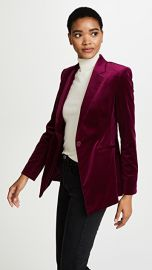 Theory Velvet Power Jacket II at Shopbop