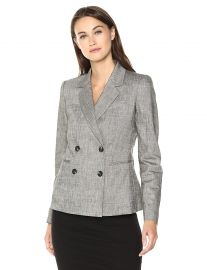 Theory Women s Double Breasted Blazer at Amazon