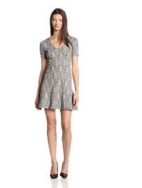 Theory Womenand39s Nikay Parcel Tweed Dress at Amazon
