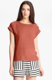 Theory and39Sorchaand39 Silk Top at Nordstrom