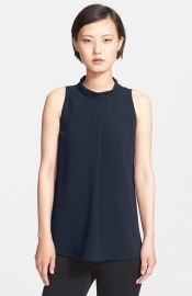 Theory and39Talnizaand39 Crepe Top at Nordstrom