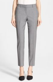 Theory and39Testra 2Band39 Stretch Wool Pants at Nordstrom