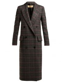 Theydon double-breasted wool coat at Matches