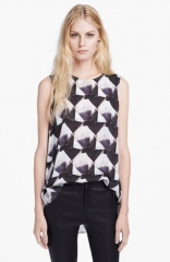 Theyskens Theory Bolin Irock Silk Blouse at Nordstrom