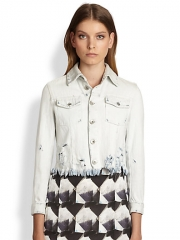Theyskens Theory Denim Jacket at Saks Fifth Avenue