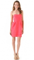 Thread Kiley Strapless Dress with Double Skirt at Shopbop
