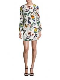 Tibi - Gothic Floral Silk Dress at Saks Fifth Avenue