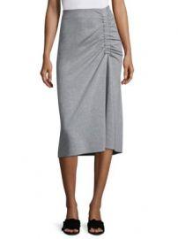 Tibi - Slim Shirred Skirt at Saks Fifth Avenue