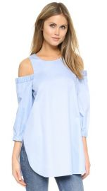 Tibi Cutout Shoulder Tunic at Shopbop