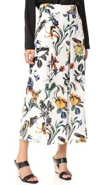 Tibi Gothic Floral Nerd Pants at Shopbop