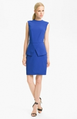 Tibi Peplum Ponte Dress at Nordstrom