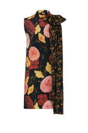 Tie Detail Floral Dress  Mother of Pearl at Rent The Runway