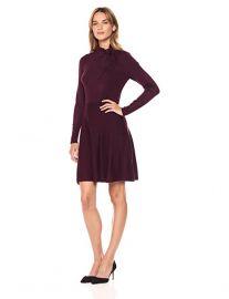 Tie Neck Sweater Dress by Eliza J at Amazon